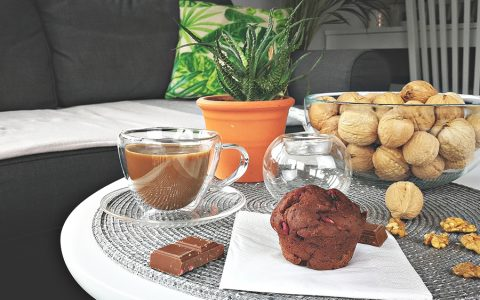 muffinki mocno czekoaldowe